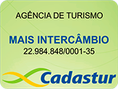 Agência Certificada pelo Ministério do Turismo / Cadastur / Embratur